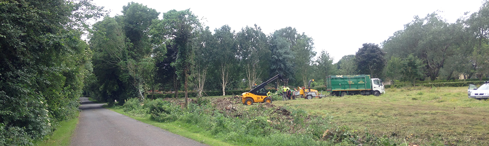 Site Clearance - Foxcover Tree Services